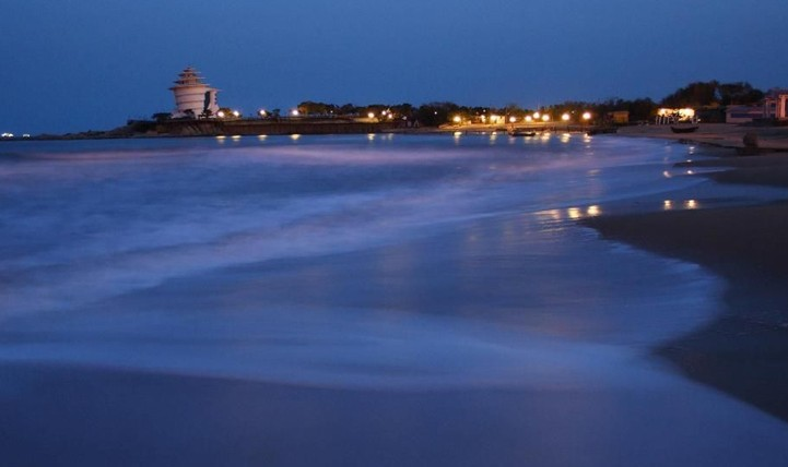 中秋节之----北戴河赏月