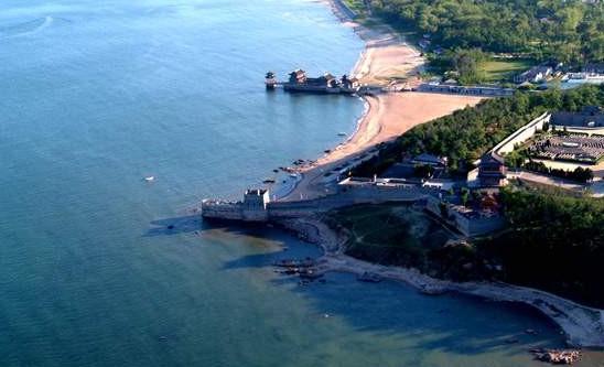 戴河葫芦岛景区