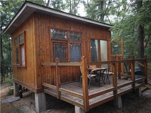 北戴河别墅推荐-黄金海岸森林度假木屋,黄金海岸森林
