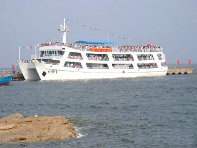秦皇岛海边的酒店